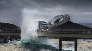 Атлантическая дорога (Atlantic Road), Норвегия